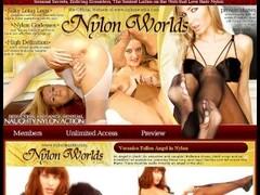 Flexi Pornstar Monika in nylon catsuit Thumb