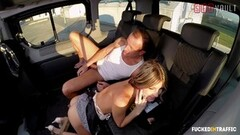 VIP SEX VAULT - Mean Hottie Betray Her BF With Driver Thumb