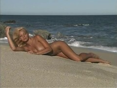 Perfect tits blond naked in public outdoors by the water part 1 Thumb