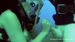 Stuffing this busty cutie underwater while scuba diving Thumb