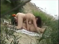 Couple On The Beach Thumb