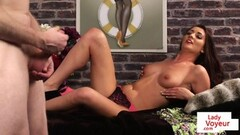 Undressed voyeur teasing during JOI Thumb
