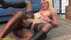 Horny Milf ass fucked by a black monster cock Thumb