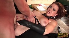 Naughty Lizzy Lovers anal domination BDSM Thumb