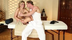 Alluring massage beauty groped and seduced Thumb