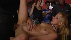 Food fetish and dp fuck in public bar Thumb