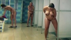 Pregnants and matures in public shower Thumb