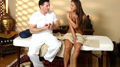 Young beauty massaged and seduced Thumb