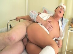 Hospital Patient Gets Extra Special Care From Sexy Nurse Thumb