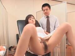 Japanese Babe Goes In For Her Annual Exam Thumb