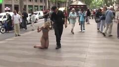 Busty Spanish public walked in underwear Thumb