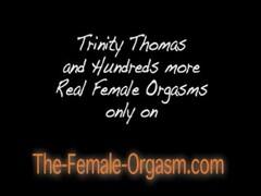 Trinity Thomas Solo Masturbation & Orgasm Thumb