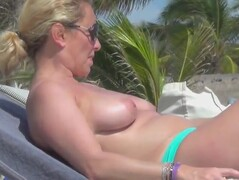 incredible french topless mexico beach maroma Thumb