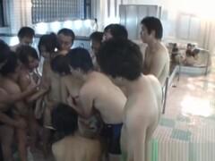 Asian doll gets spa fun in public jav part4 Thumb