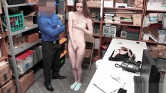 Tali Dova Pumps that tight pussy on top of the LP Officer! Thumb