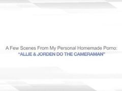 ALLIE & JORDEN DO THE CAMERAMAN – MFF THREESOME Thumb
