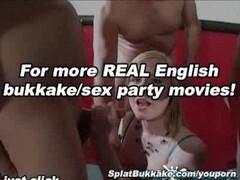 Satine Spark club bukkake party Thumb