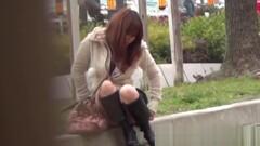 Japanese whore rubbing Thumb
