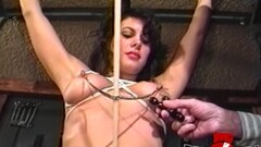 Naughty sub Bambi Love bound and whipped Thumb