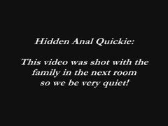 Quick!  We Have The Anal Sex Thumb