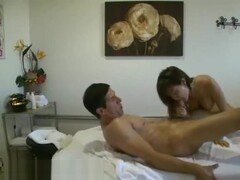 A Chinese Therapist Sucking A Clients Stiff Dick Thumb