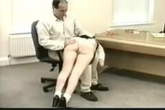 white cotton panties wedgie spanking Thumb