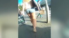 lovely ass in short jeans Thumb