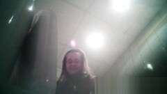 Office toilet. Girl 4 compilation. Thumb