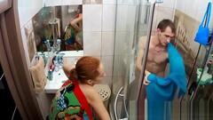 Abigail & Sam take a shower, BATHROOM : show tv : RealLifeCam Thumb