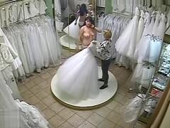 Wedding dress shopping voyeur Thumb