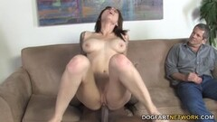 Paris Kennedy PicksUp BlackGuy With Her Cuckold Husband Thumb