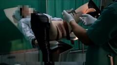Nurse orgasm on a gynecological chair Thumb