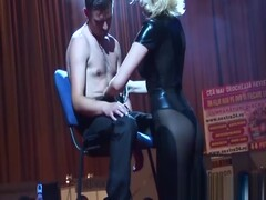 babe gives a hot lapdance on stage Thumb