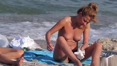 Voyeur Beach Hot Amateur Topless MILFs - Spy Cam HD Video Thumb