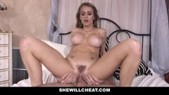 SheWillCheat Horny Wife Drilled by Husbands Employee Thumb