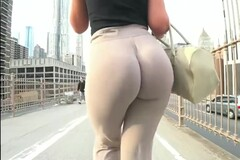 Insane Jiggly Pawg Wobble! Bubble Butt Cheeks Clapping Thumb