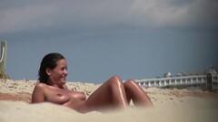 Shaved Hot Pussy Beach Milfs Voyeur Spy Hidden Cam HD Video Thumb