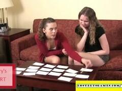 Amateur girls playing strip memory Thumb