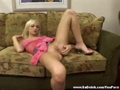 Hot 18 year old blonde enjoys anal Thumb