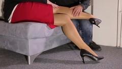 Lady and Foot Slave Thumb