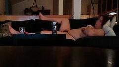 BBW wife caught masturbating on hidden cam Thumb
