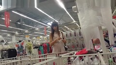 Unforgettable Upskirt With Young Girl Choosing Panties Thumb
