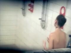 Craziest Shower, Amateur, Spy Cam Movie, It'S Amaising Thumb