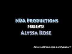 Alyssa Rose Amateur Creampies Thumb