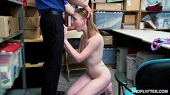 Cute Katy Kiss caught by hung mall cop and fucked deep Thumb