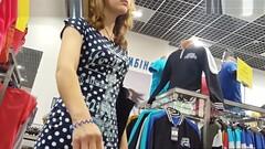 Young Babe In Polka Dot Dress Thumb