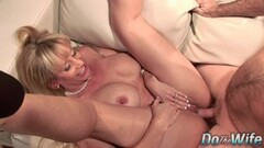 Cute Mature Wife Fucks Stud in Front of Hubby Thumb