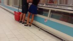 Girl Blue Skirt Thumb